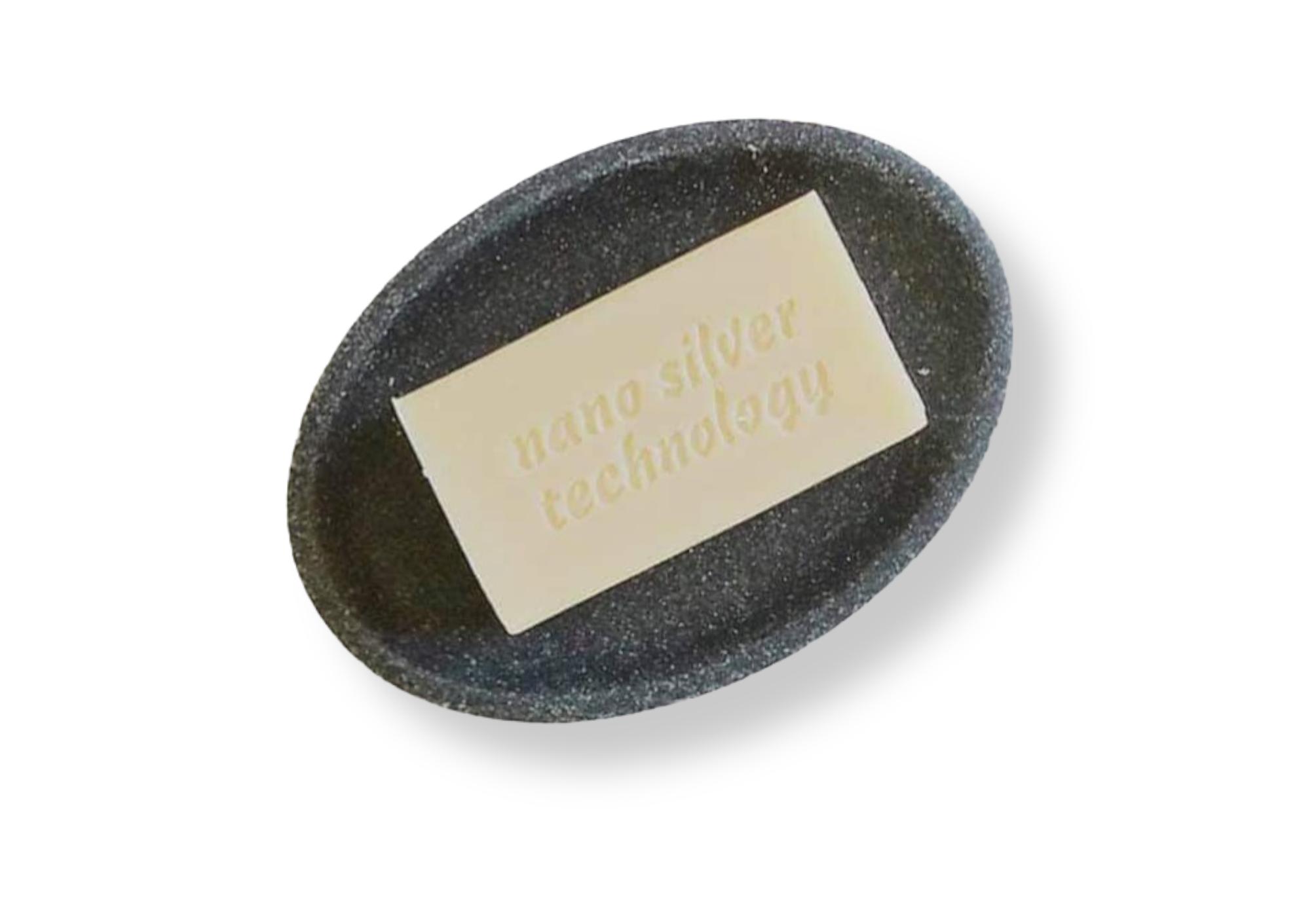 Rudas muilas su nanosidabru